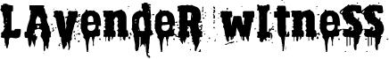 Lavender Witness Font