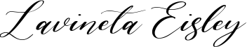 Lavineta Eisley Font