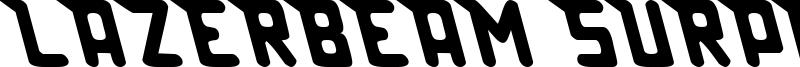 Lazerbeam Surprise Font