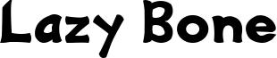 Lazy Bone Font