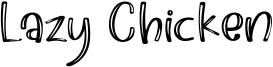 Lazy Chicken Font