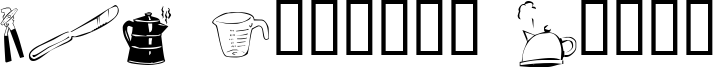 LCR Kitchen Dings Font