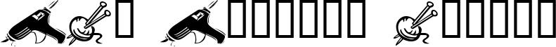 LCR Lesleys Crafts Font