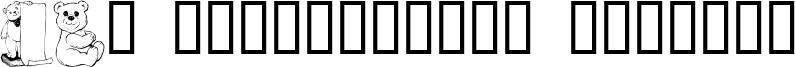 LCR Prestigious Teddies Font