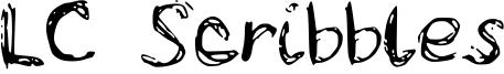 LC Scribbles Font