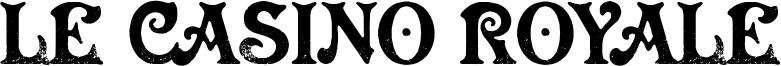 Le Casino Royale Font