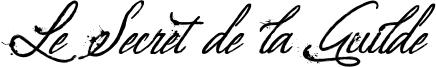 Le Secret de la Guilde Font