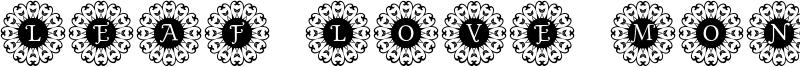 Leaf Love Mono Font