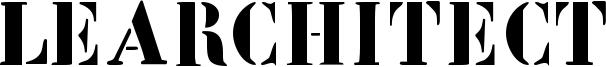LeArchitect Font