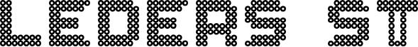Leders ST Font