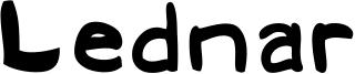 Lednar Font