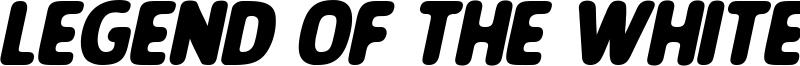 Legend Of The White Lion Font