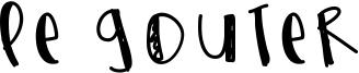 Le Gouter Font