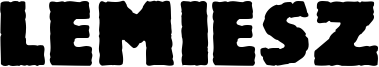 Lemiesz Font