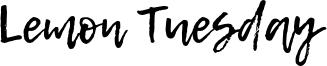 Lemon Tuesday Font