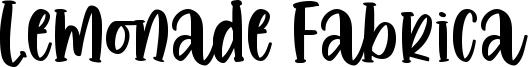 Lemonade Fabrica Font