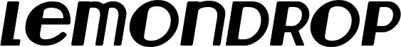 Lemondrop Italic.ttf