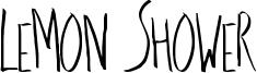 Lemon Shower Font