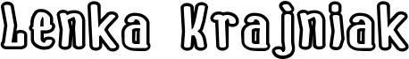 Lenka Krajniak Font
