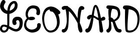 Leonard Font