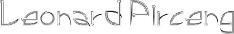 Leonard Pirceng Font