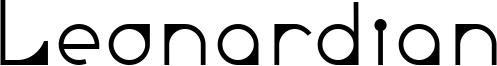 Leonardian Font