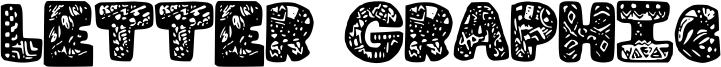Letter Graphic Font