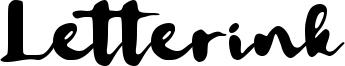 Letterink Font