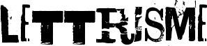 Lettrisme Font