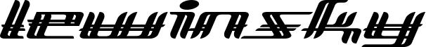 Lewinsky Font