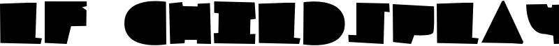 LF Childsplay Font