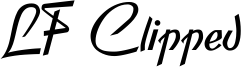 LF Clipped Font