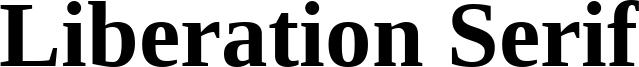 Liberation Serif Font