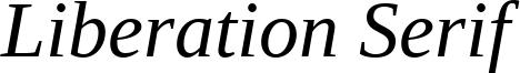 LiberationSerif-Italic.ttf