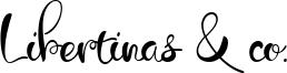 Libertinas & co. Font