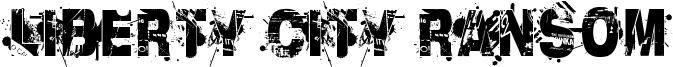 Liberty City Ransom Font