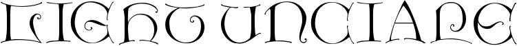 Light Unciale Font