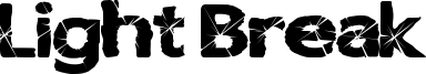 Light Break Font