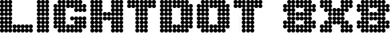Lightdot 8x8 Font