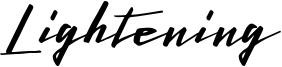 Lightening Free Font.otf