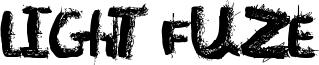 Light Fuze Font