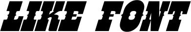 Like Font Font