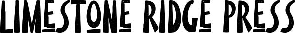 Limestone Ridge Press Font