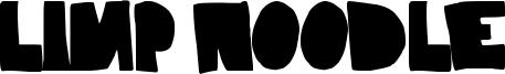 Limp Noodle Font