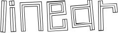 Linear Font