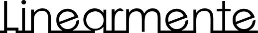 Linearmente Font
