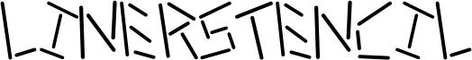 Linerstencil Font