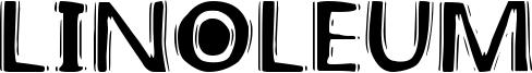 Linoleum Font
