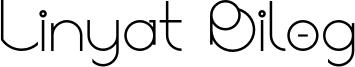 Linyat Bilog Font