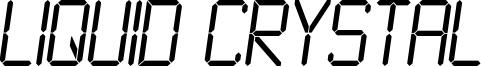 LiquidCrystal-LightItalic.otf